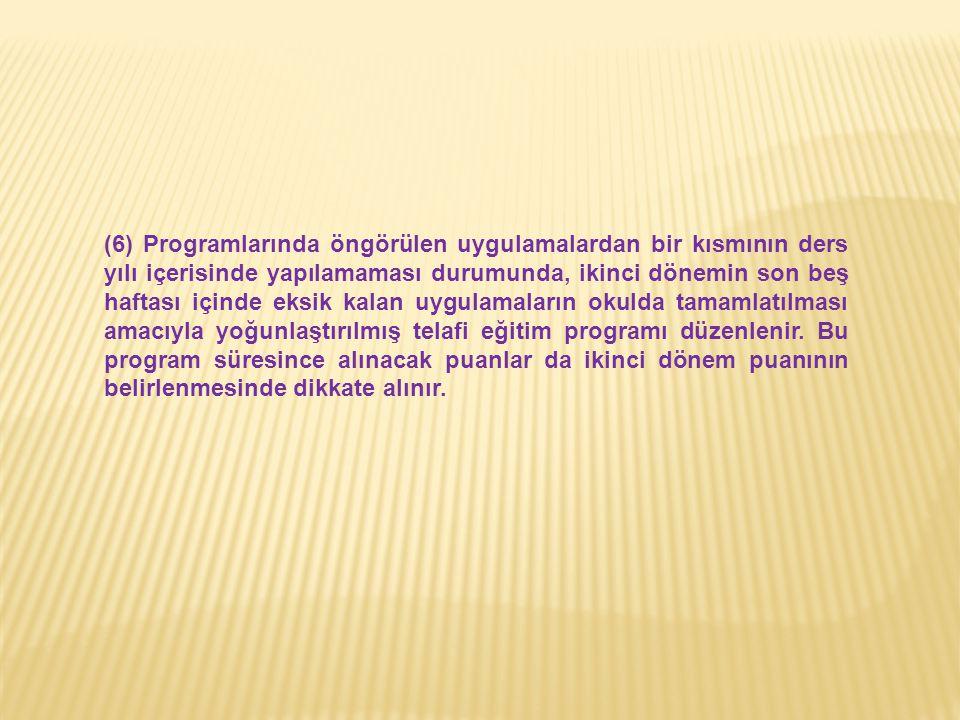 1-Tanımlar: 3308 sayılı Mesleki Eğitim Kanununun 3 üncü maddesinde tanımları yapılmıştır.