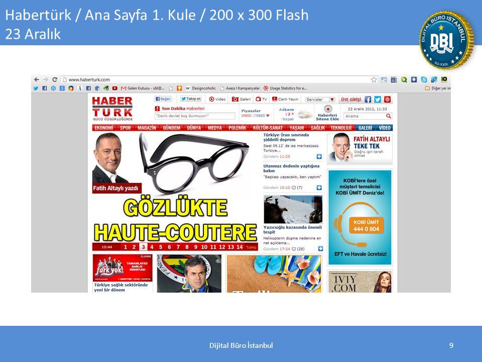 Dijital Büro İstanbul9 Habertürk / Ana Sayfa 1. Kule / 200 x 300 Flash 23 Aralık