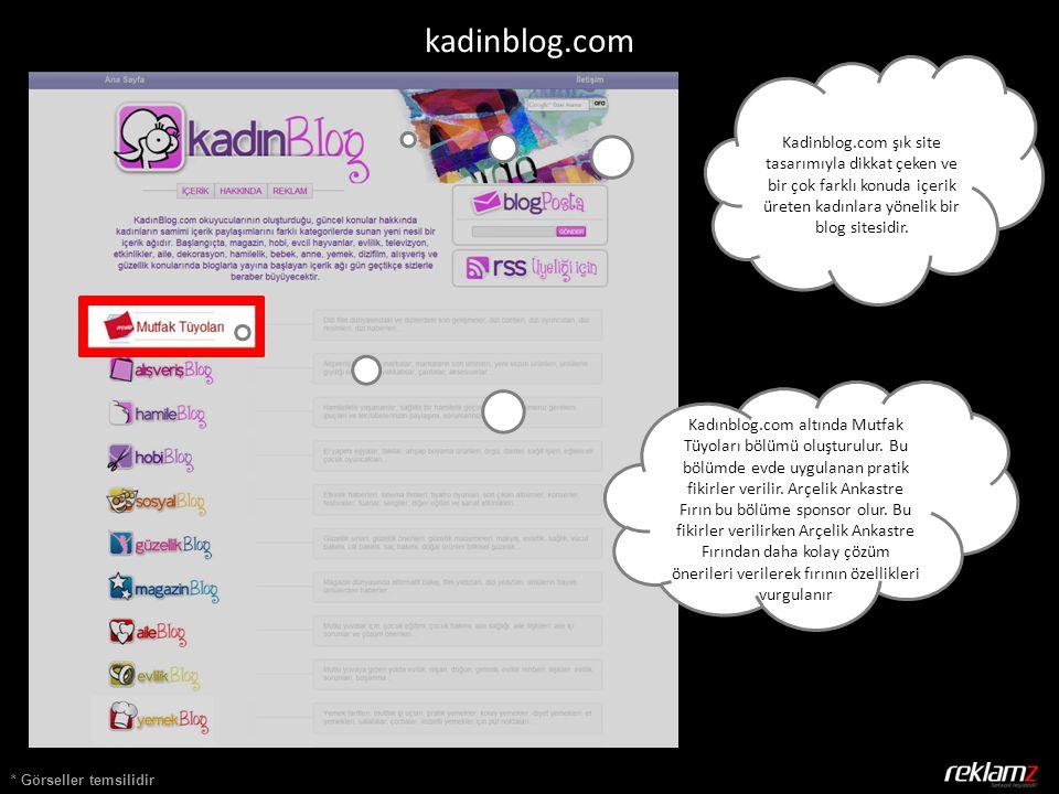 * Görseller temsilidir kadinblog.com Kadinblog.com şık site tasarımıyla dikkat çeken ve bir çok farklı konuda içerik üreten kadınlara yönelik bir blog sitesidir.
