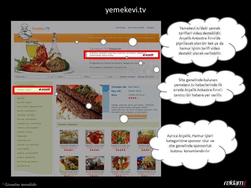 * Görseller temsilidir Yemekevi.tv'deki yemek tarifleri video desteklidir.