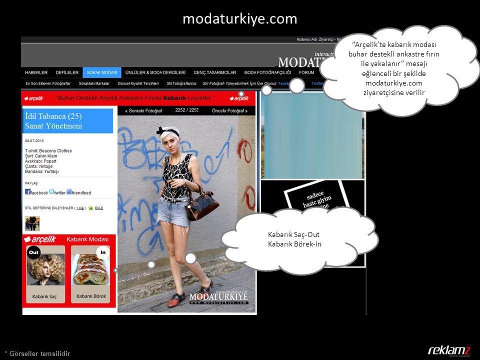 * Görseller temsilidir Kabarık Saç-Out Kabarık Börek-In modaturkiye.com Arçelik'te kabarık modası buhar destekli ankastre fırın ile yakalanır mesajı eğlenceli bir şekilde modaturkiye.com ziyaretçisine verilir