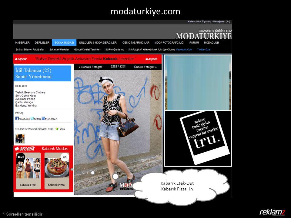 * Görseller temsilidir Kabarık Etek-Out Kabarık Pizza_In modaturkiye.com