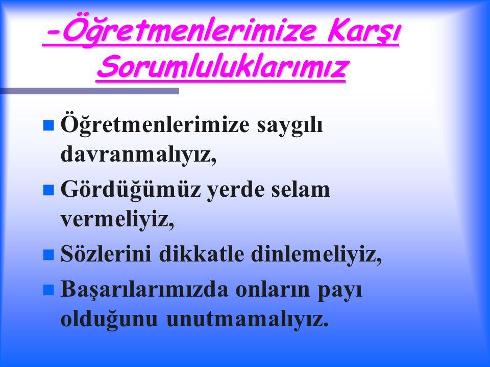 EN İYİSİ SEN OL...