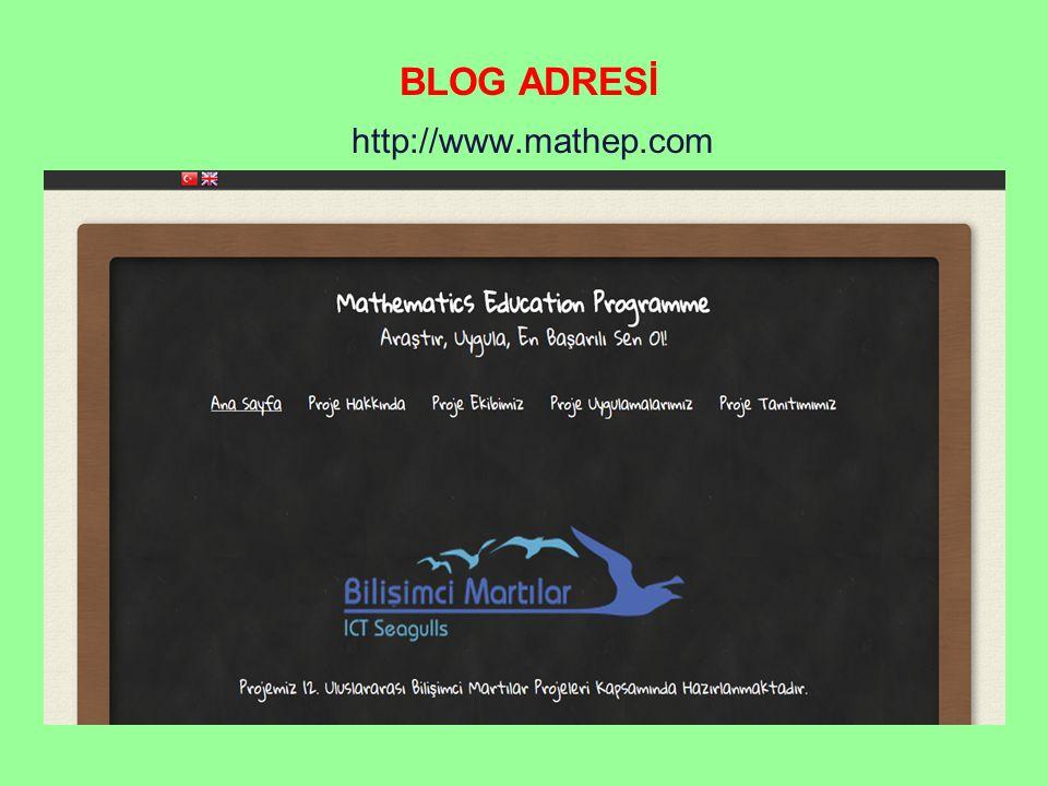 http://www.mathep.com BLOG ADRESİ