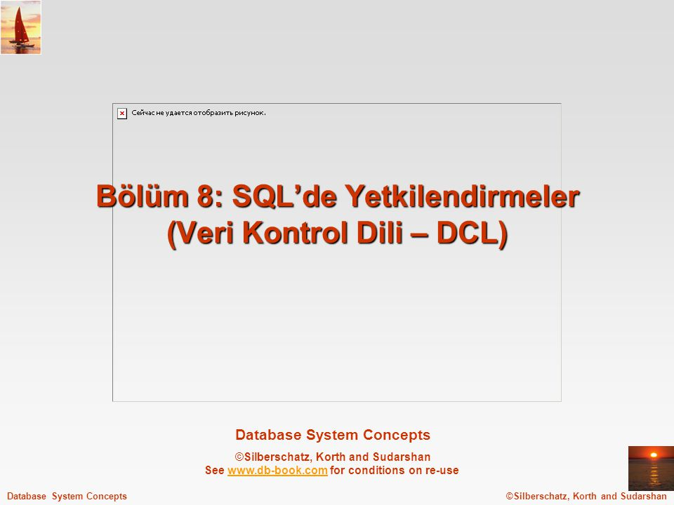 ©Silberschatz, Korth and Sudarshan8.2Database System Concepts - 5 th Edition, Aug 9, 2005.