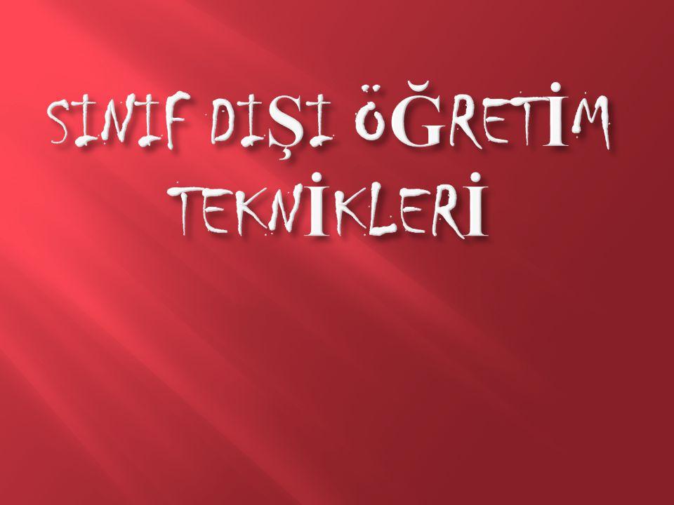 Gezi Tekni ğ i  Gezi Tekni ğ i  Gezi, okul ve sınıf içinde yapılan e ğ itsel çalı ş maları tamamlamak ve e ğ itimin ya ş amIa ba ğ lantısını kurmak amacıyla yapılan planIı ziyaretlerdir.