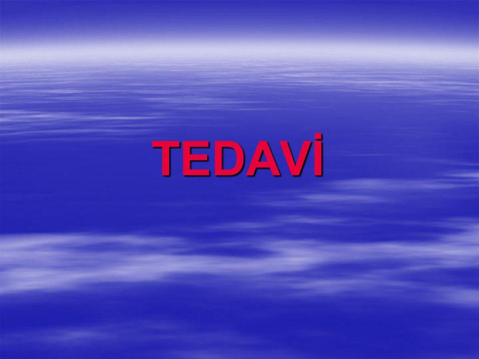 TEDAVİ TEDAVİ