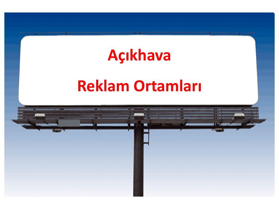 Açıkhava Reklam Ortamları