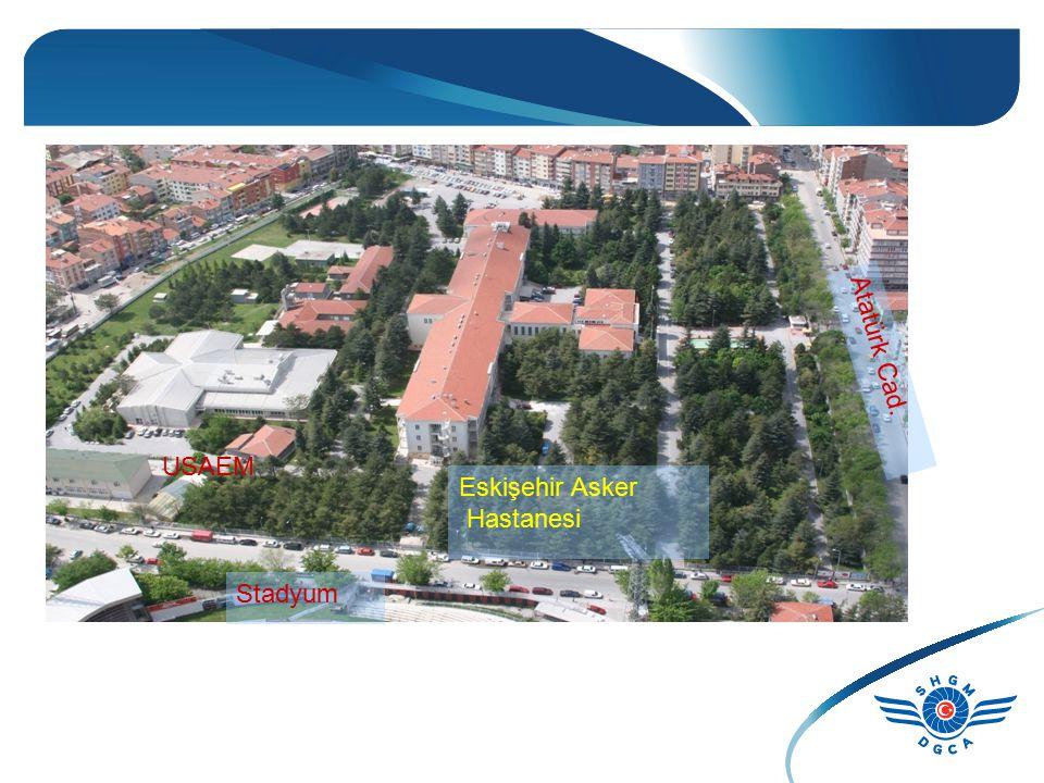 USAEM Stadyum Eskişehir Asker Hastanesi Atatürk Cad.