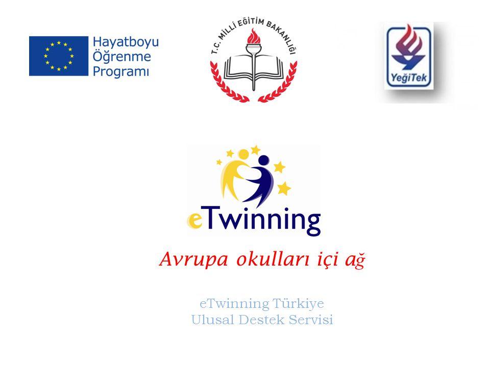 Avrupa okulları içi a ğ eTwinning Türkiye Ulusal Destek Servisi