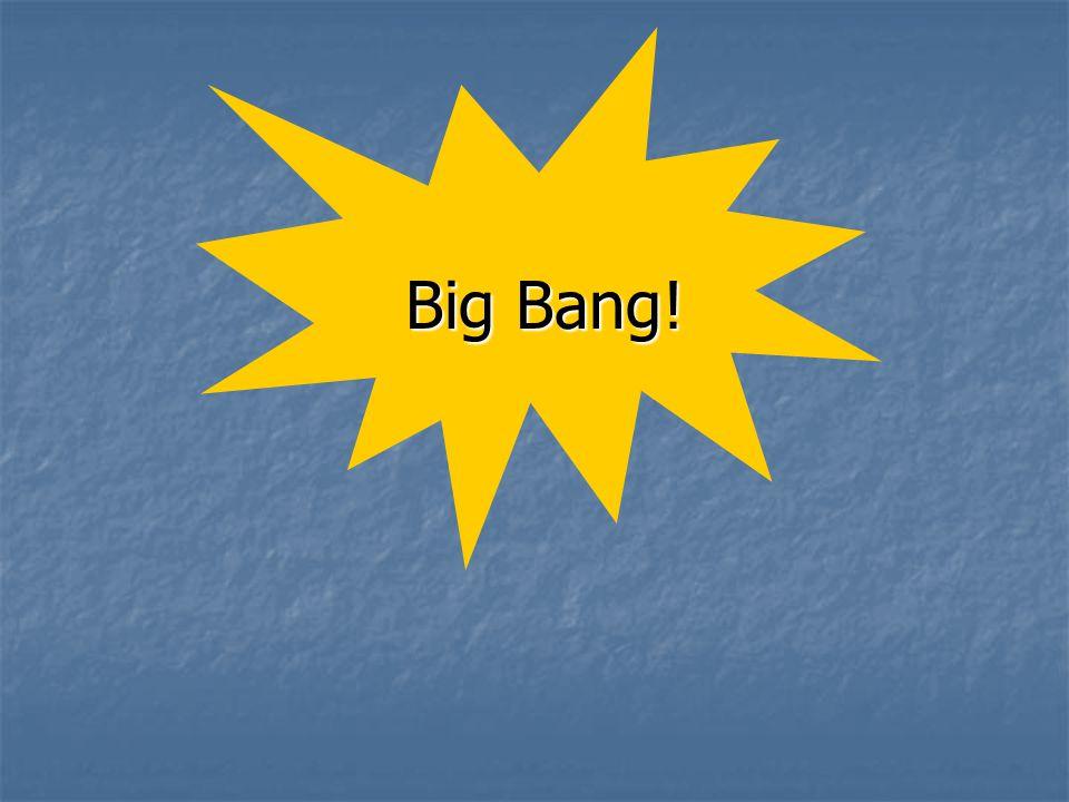 Büyük patlamadan hemen sonra; 10 -35 sn sonra evren 10 50 katına çıkmıştır.