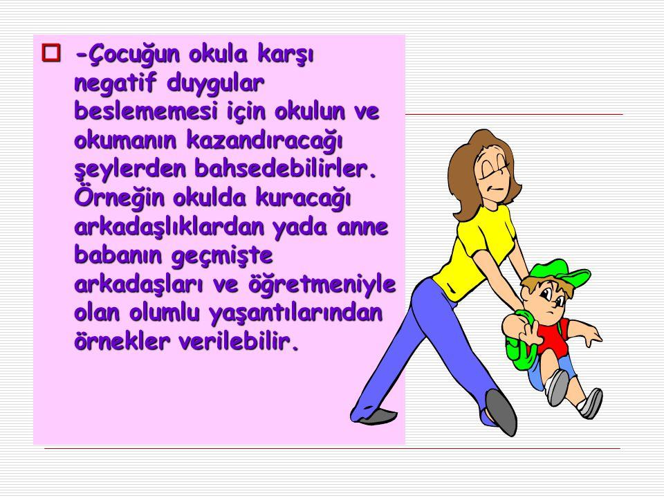  Okulöncesi ve İlkokul döneminde ailenin ve öğretmenin çocuğa karşı olan tutumu onun benlik algısını (Çocuğun kendisini nasıl gördüğünü) olumlu yada olumsuz etkiler.