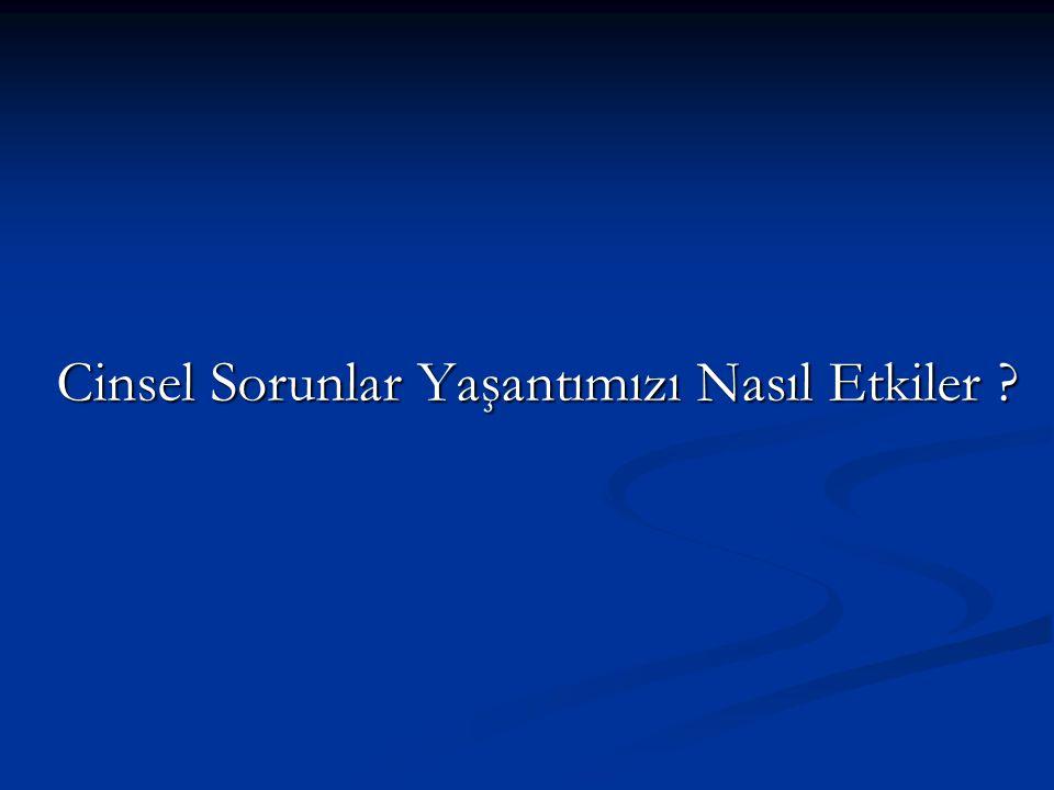 Türkiye'de Erkekler Cinselliğin Çok Önemli Olduğunu Düşünüyor Türkiye'de erkeklerin %70'i cinselliğin çok önemli olduğunu belirtiyor