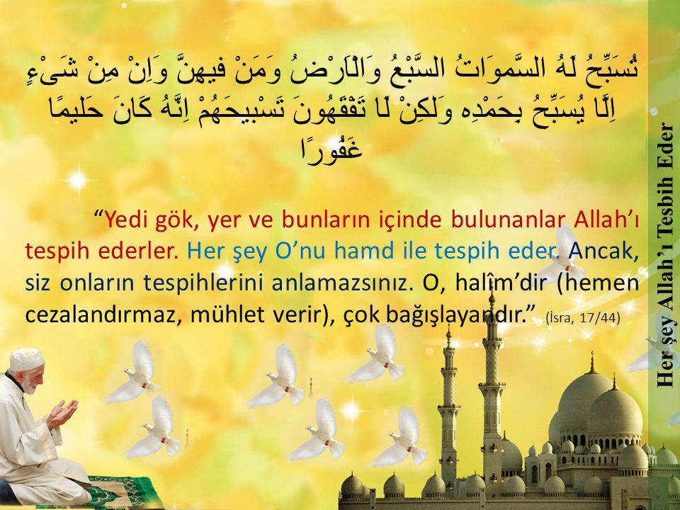 Hasan-ı Basri Hz.Der ki: Ey insanlar. Dualarınız kabul olunmaz diye korkmuyorum.