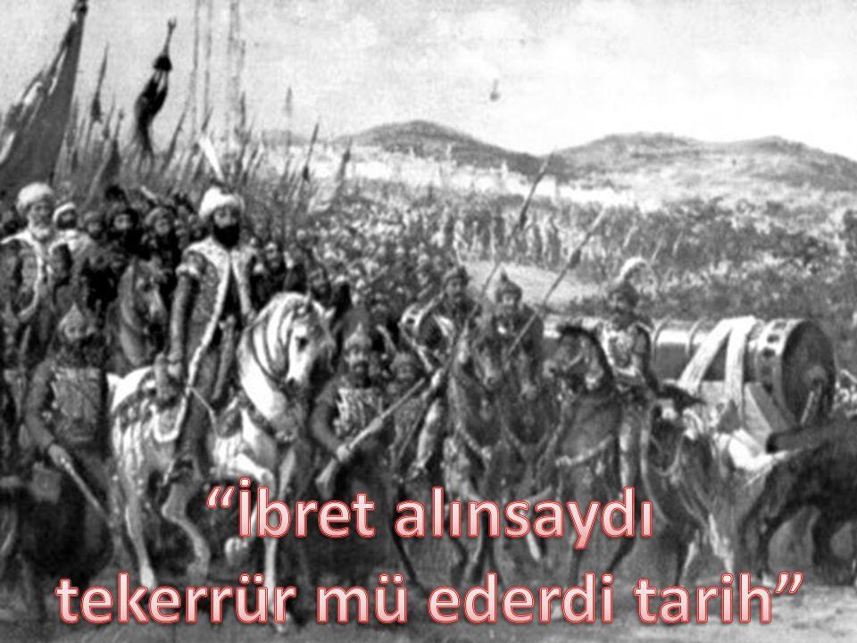 Tarih bize derki: SEN BÜYÜK MİLLETSİN…