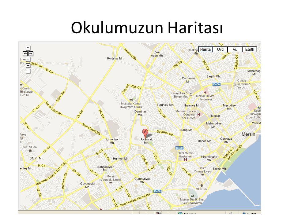 Okulumuzun Haritası