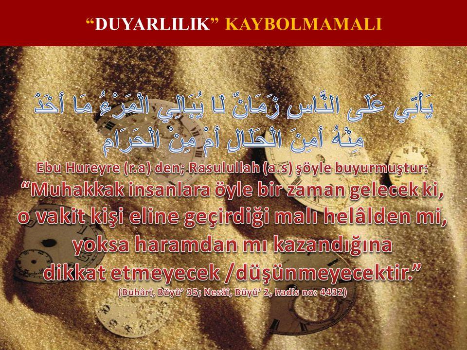 """DUYARLILIK"" KAYBOLMAMALI"