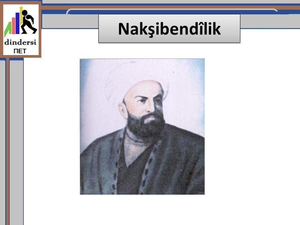 Nakşibend kelimesi Farsça da (İran dili) nakış yapan anlamındadır.