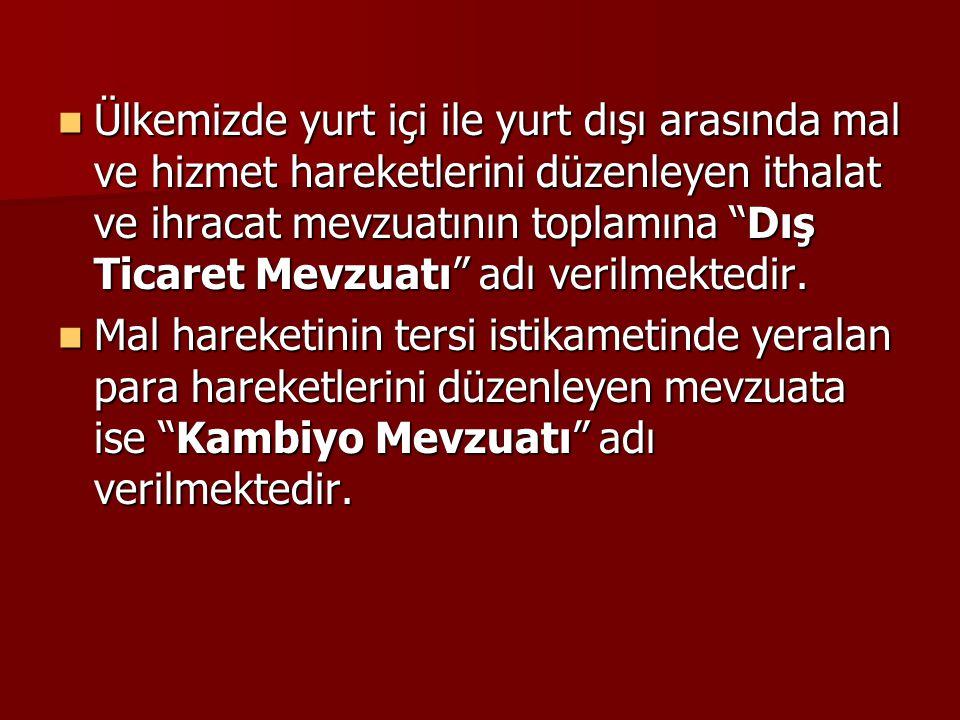 Ülkemizde kambiyo denetleme sisteminin kaynağı 1567 sayılı Türk Parasının Kıymetini Koruma Hakkındaki kanundur.