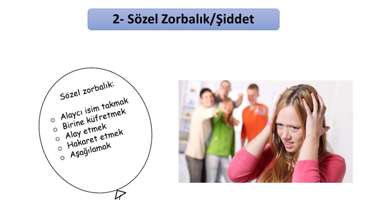 3-Duygusal Zorbalık/Şiddet