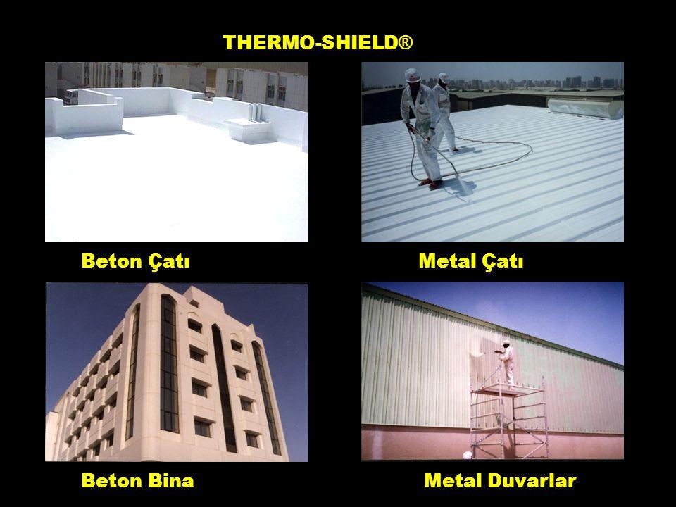 Beton ÇatıMetal Çatı Beton BinaMetal Duvarlar THERMO-SHIELD ® 2