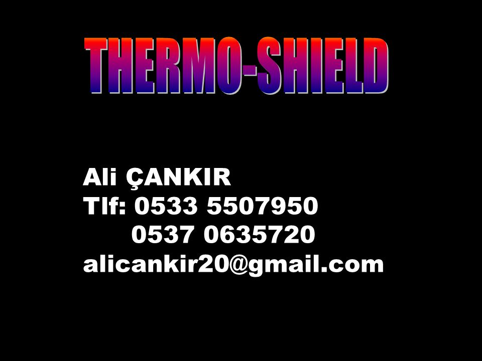 25 Ali ÇANKIR Tlf: 0533 5507950 0537 0635720 alicankir20@gmail.com