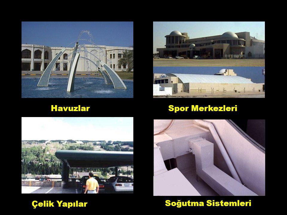 HavuzlarSpor Merkezleri Çelik Yapılar Soğutma Sistemleri 3