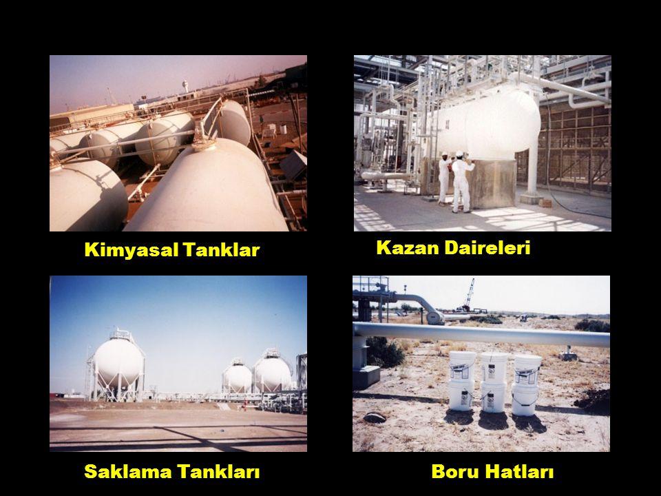 Kimyasal Tanklar Kazan Daireleri Saklama TanklarıBoru Hatları 4