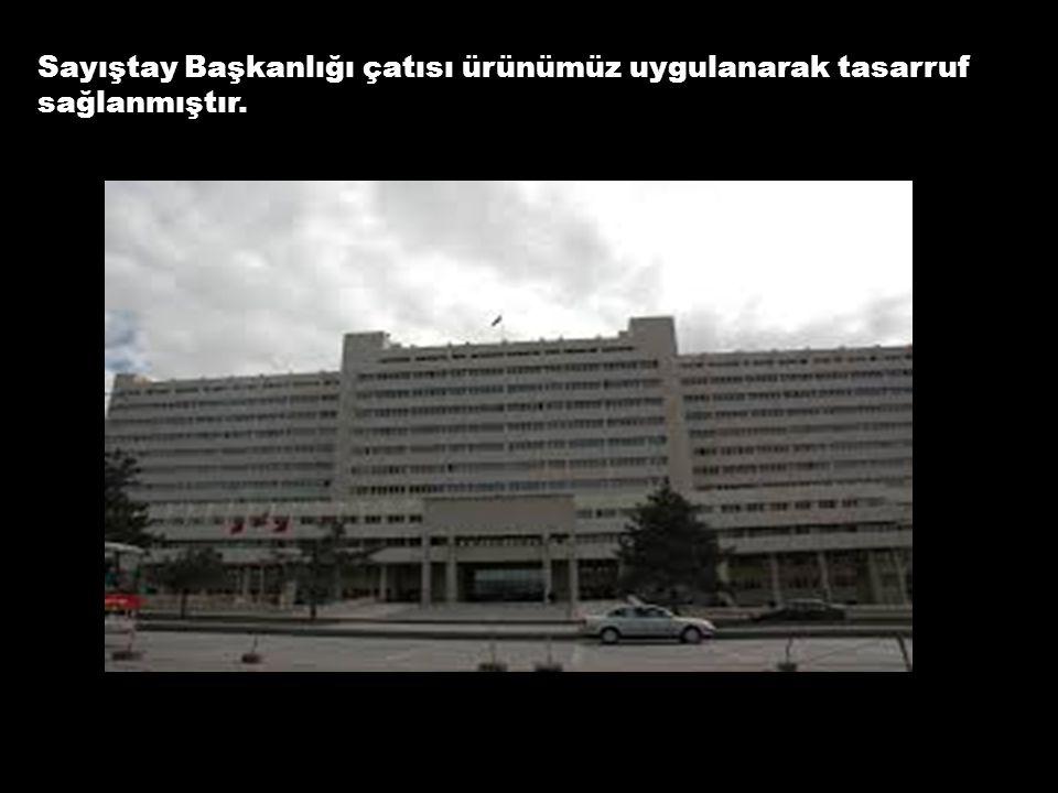 İzmir Kemalpaşa Belediyesi binası tarafımızdan yalıtılmış ve 1 yıl sonra klima masraflarından %35 tasarruf tespit edilmiştir.