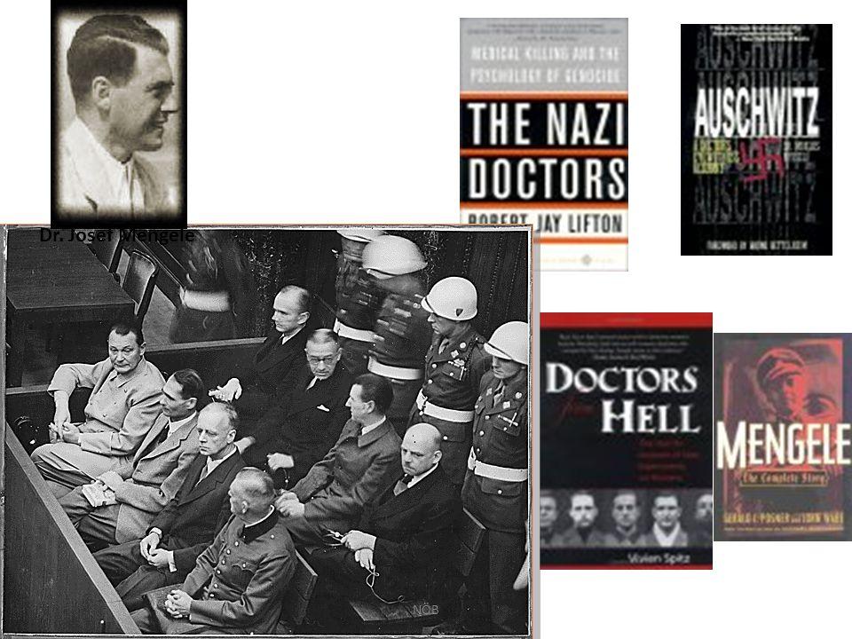 Dr. Josef Mengele NÖB