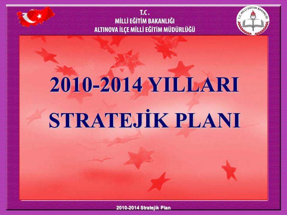 2010-2014 Stratejik Plan 2010-2014 YILLARI STRATEJİK PLANI