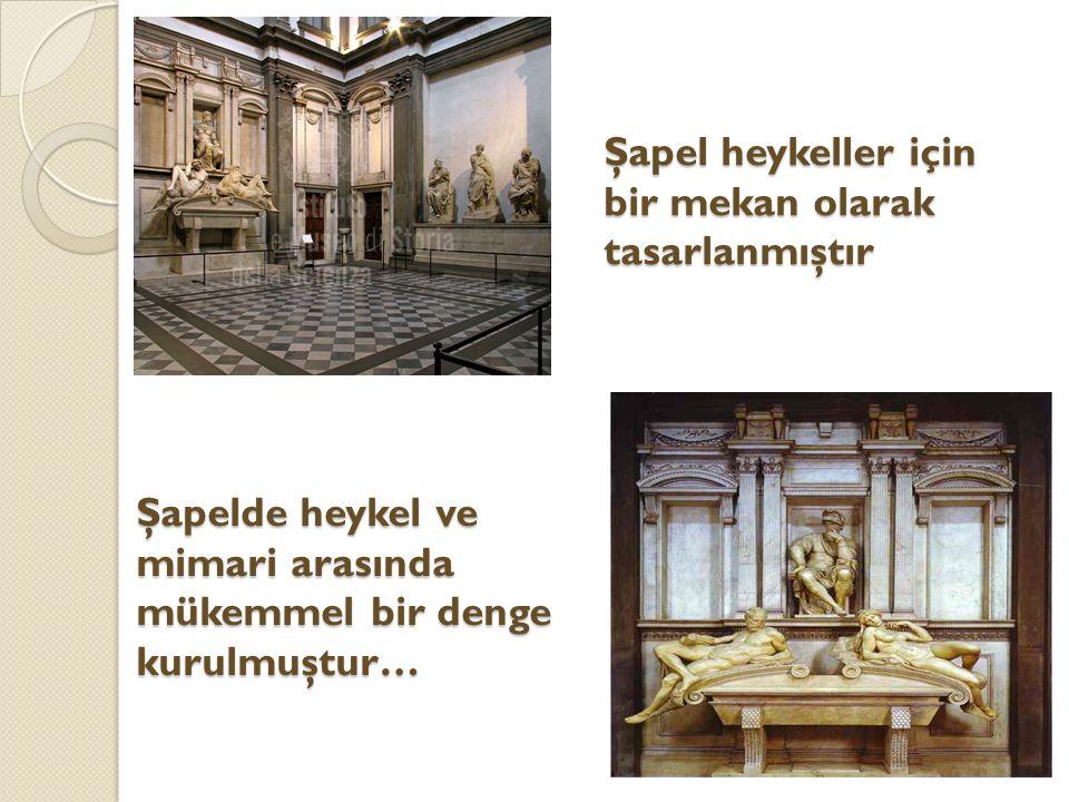 Şapel heykeller için bir mekan olarak tasarlanmıştır Şapelde heykel ve mimari arasında mükemmel bir denge kurulmuştur…