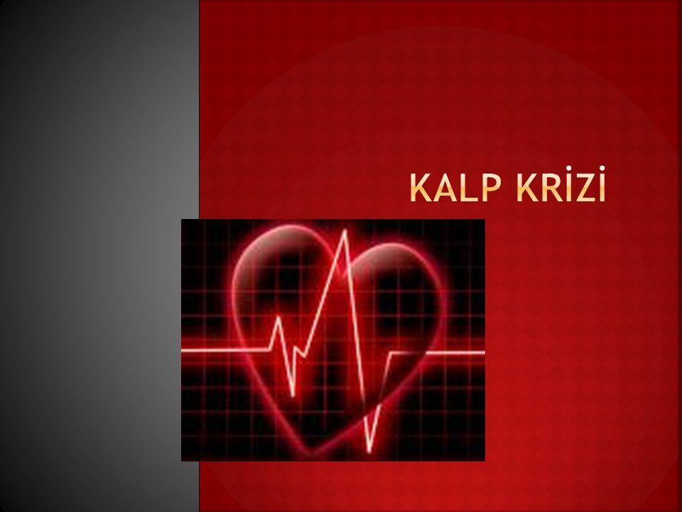  Kalbin fonksiyonunu rahatça yapabilmesi için yeterli miktarda oksijene gereksinimi vardır.