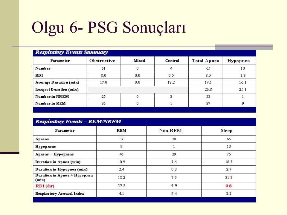 Olgu 6- PSG Sonuçları