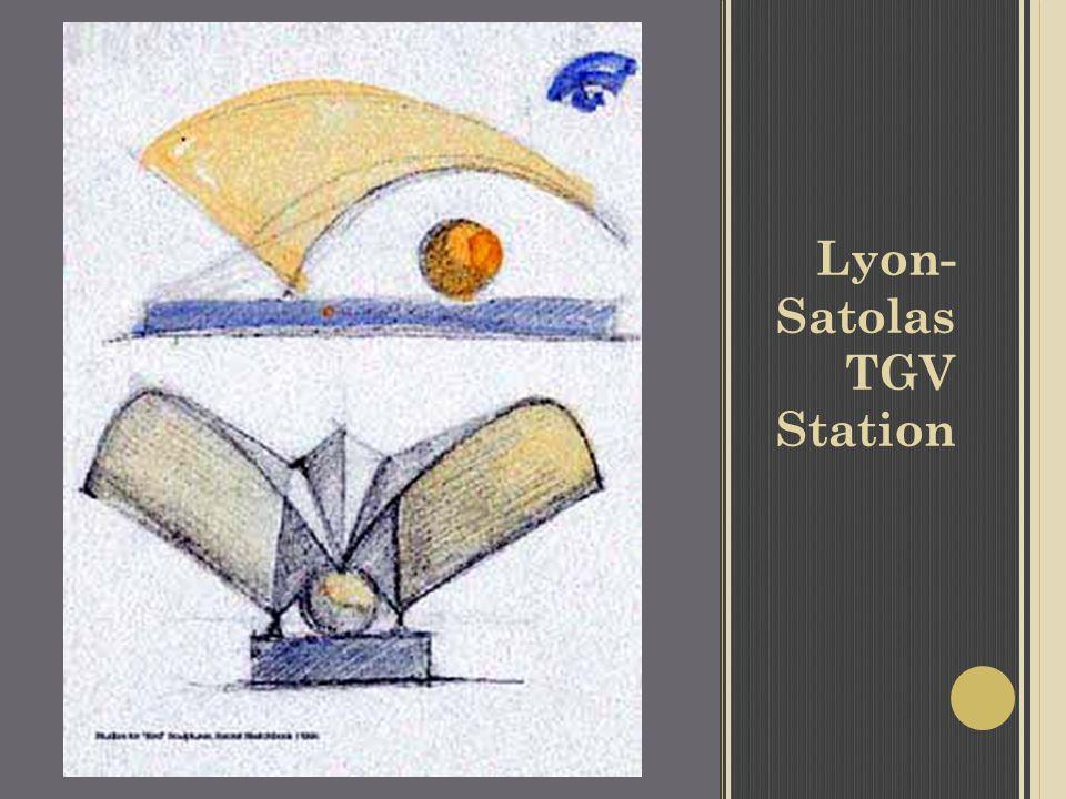Lyon- Satolas TGV Station