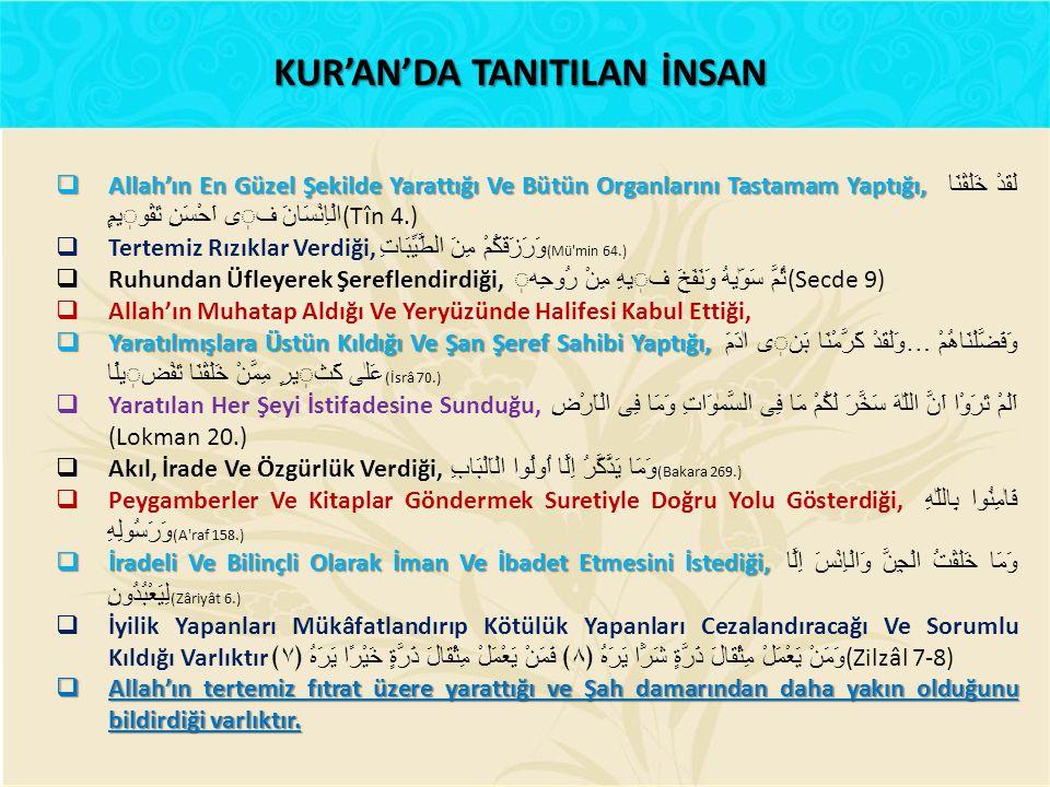 KUR'ANDA KADIN ERKEK AYRIMI YOK Peygamber ve Kur'an kadın ve erkek herkese gelmiştir.