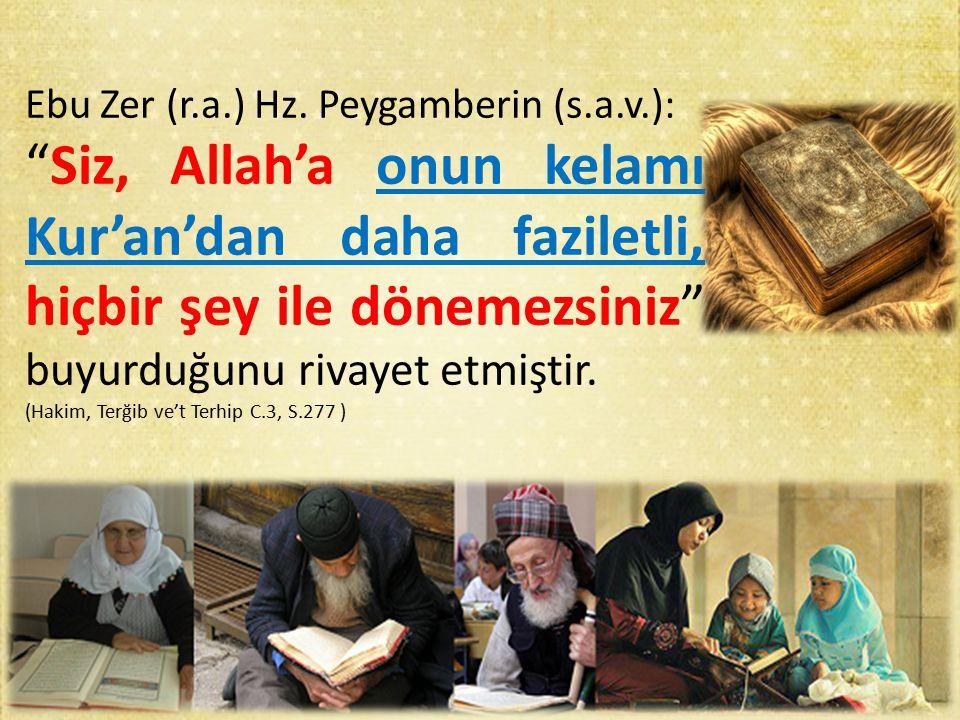 Ebu Zer (r.a.) Hz.