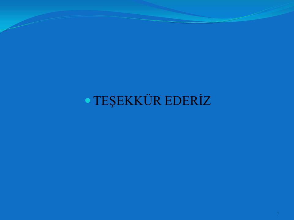 TEŞEKKÜR EDERİZ 7