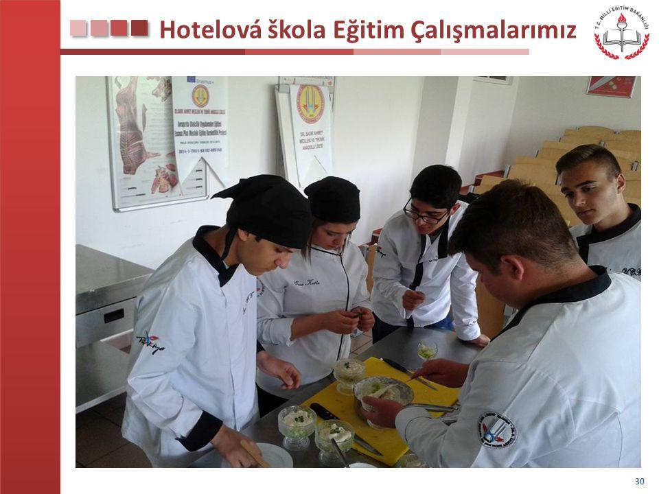 Hotelová škola Eğitim Çalışmalarımız 30