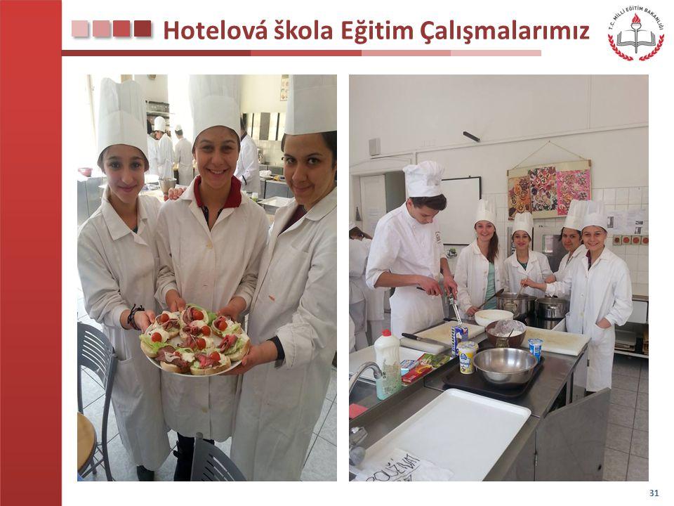 Hotelová škola Eğitim Çalışmalarımız 31
