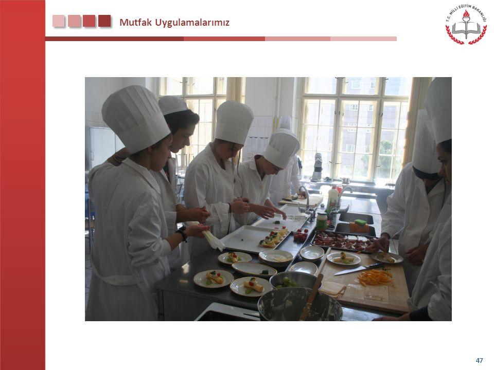 Mutfak Uygulamalarımız 47