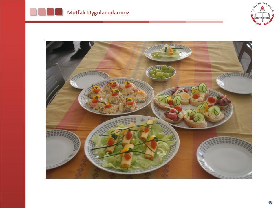 Mutfak Uygulamalarımız 48