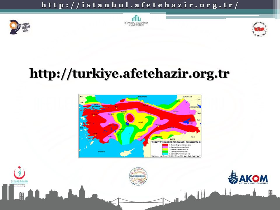 http://istanbul.afetehazir.org.tr/ http://turkiye.afetehazir.org.tr