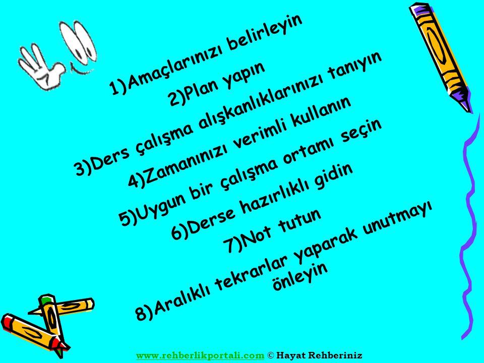www.rehberlikportali.comwww.rehberlikportali.com © Hayat Rehberiniz