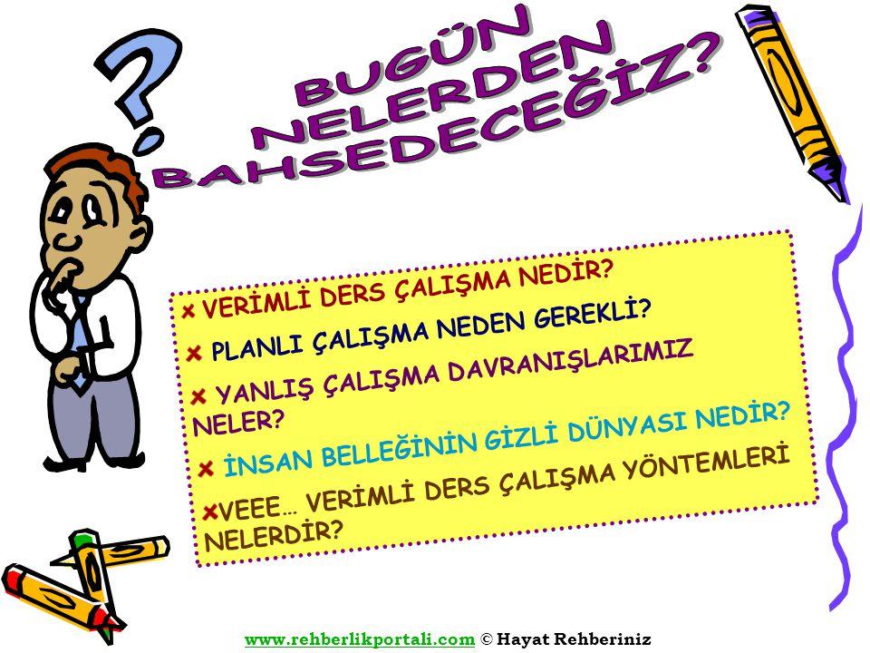 www.rehberlikportali.comwww.rehberlikportali.com © Hayat Rehberiniz 1.