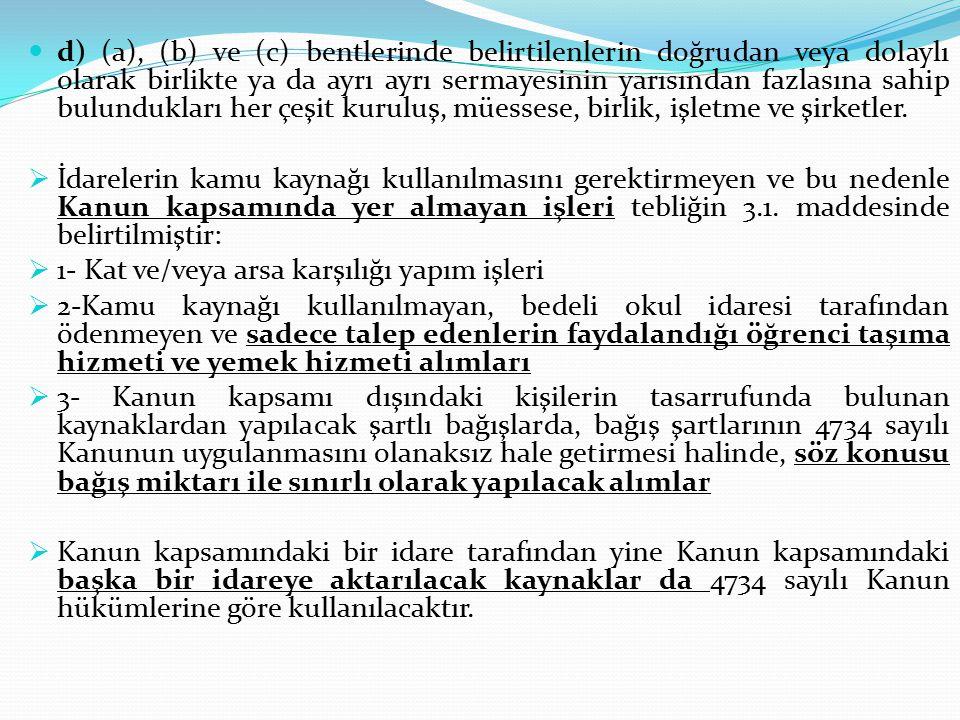 DÖRDÜNCÜ KISIM Yasaklar ve Ceza Sorumluluğu İhalelere katılmaktan yasaklama Madde 58- (Değişik birinci fıkra: 30/7/2003-4964/ 35 md.) 17 nci maddede belirtilen fiil veya davranışlarda bulundukları tespit edilenler hakkında fiil veya davranışlarının özelliğine göre, bir yıldan az olmamak üzere iki yıla kadar, üzerine ihale yapıldığı halde mücbir sebep halleri dışında usulüne göre sözleşme yapmayanlar hakkında ise altı aydan az olmamak üzere bir yıla kadar, 2 nci ve 3 üncü maddeler ile istisna edilenler dahil bütün kamu kurum ve kuruluşlarının ihalelerine katılmaktan yasaklama kararı verilir.