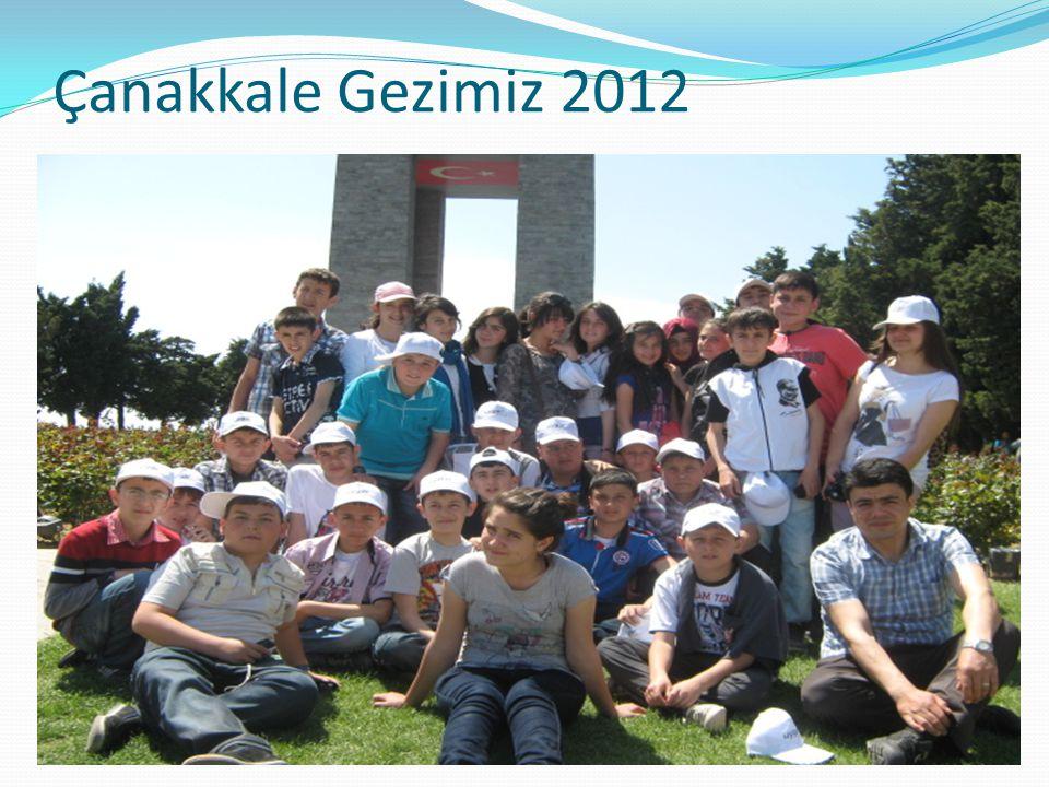 Çanakkale Gezimiz 2012