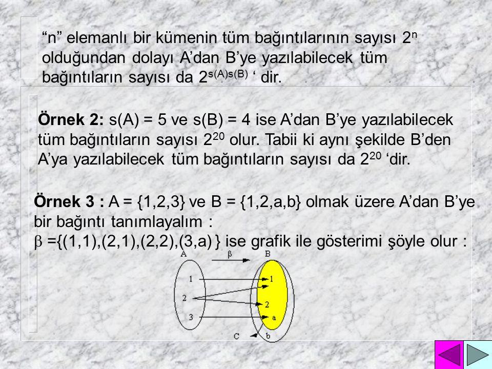 Çünkü kartezyen çarpım kümesinin eleman sayısı ; kartezyen çarpımı oluşturan kümelerin eleman sayılarının çarpımına eşittir.