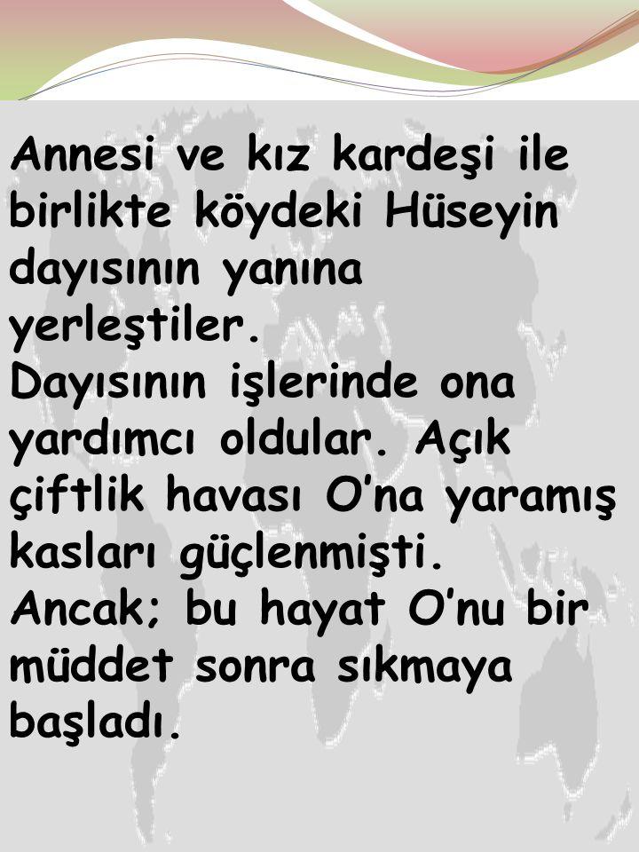 """Ayten IŞILDAĞ9 Atatürk okula başladıktan sonra babası bağırsak vereminden öldü. Babası öldüğünde küçük """"Mustafa"""" 7 yaşındaydı."""
