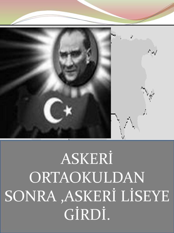 Ayten IŞILDAĞ15 MANASTIR ASKERÎ İDADİSİ( LİSESİ)
